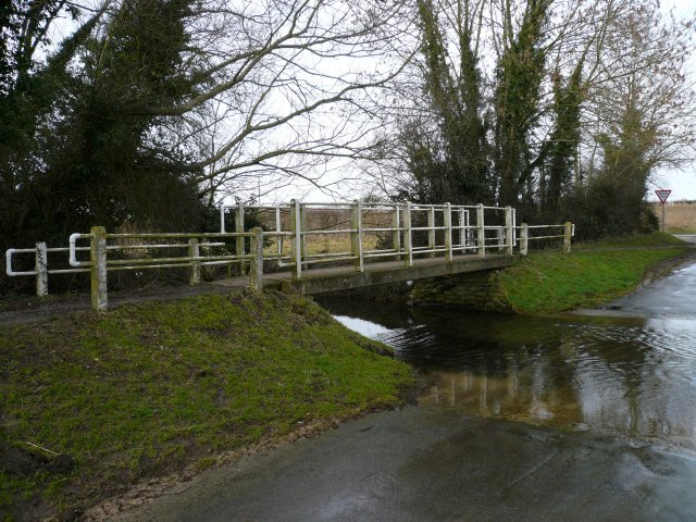 Footbridge over ford
