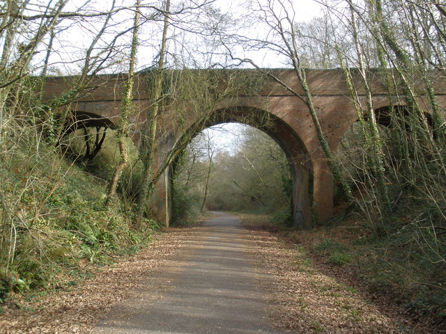Bridge across the former Exmouth to Budleigh branch