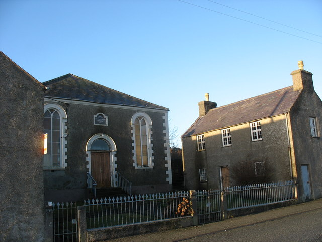 The chapel house at Capel Bosra, Penysarn
