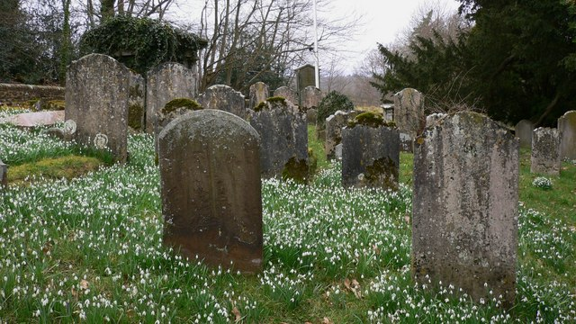 Headstones at St Peter's, Hambledon
