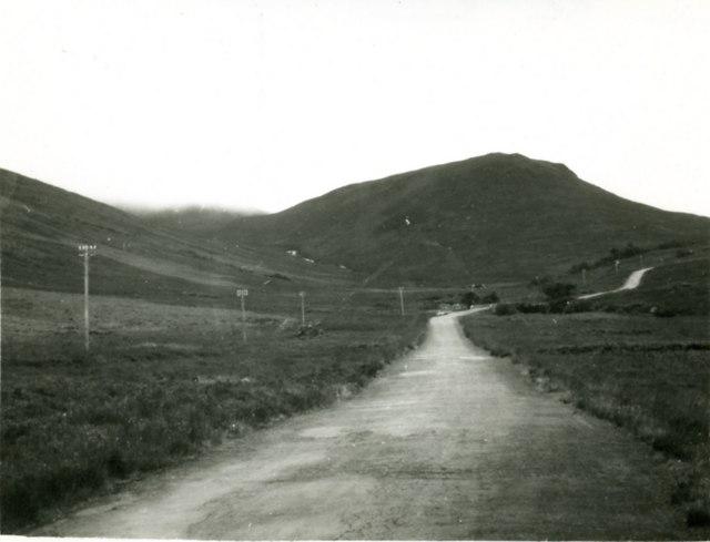 The road to Lochranza - A841