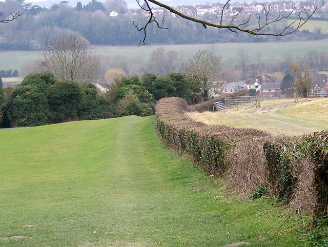 Bridleway to Stratford sub Castle