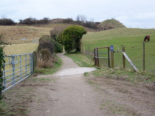 Footpath to Old Sarum