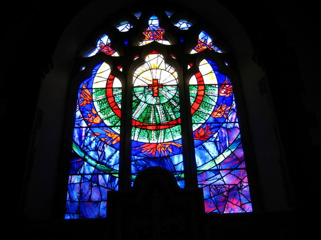 The East window - Church of St Peter and St Paul