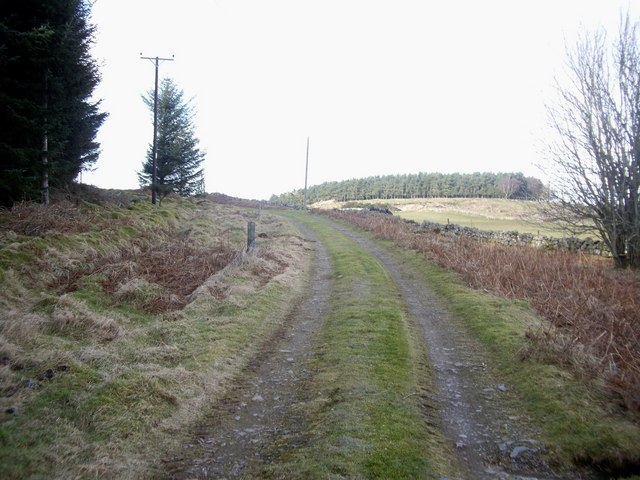 Track from Little Minew to Minew