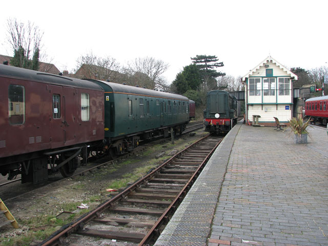 Sheringham - the old railway station