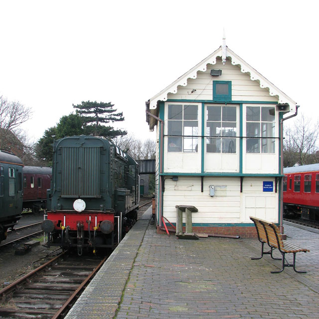 Sheringham - the museum signal box