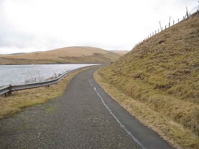 Fruid Reservoir road