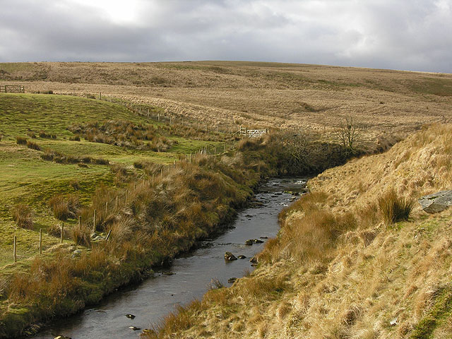 Afon Elan above Abergwngu