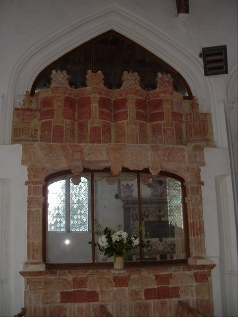 Terracotta Bedingfeld Tomb, Oxborough Church