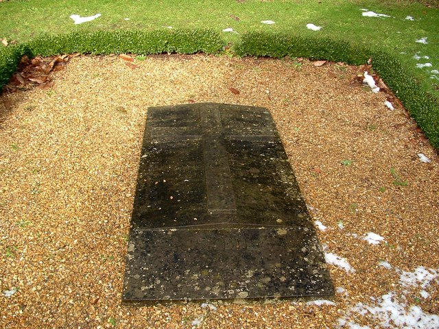 Lady Bedingfeld's Grave, Oxburgh Hall