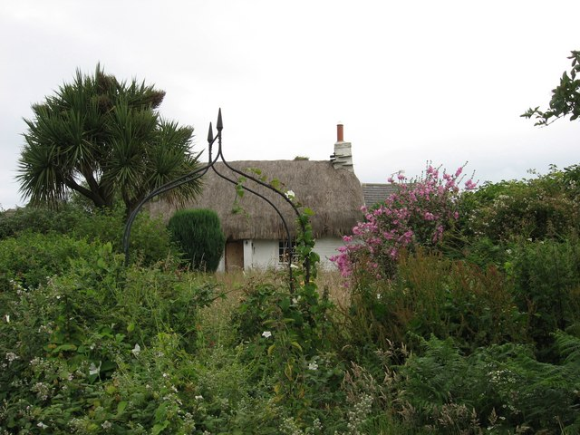 """The"" Cranstal Cottage (now vacant and for sale) near Cranstal, Isle of Man"