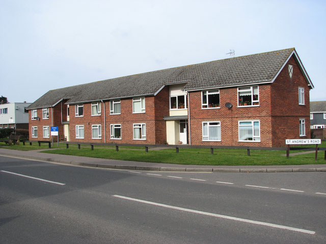 Terraced houses on Cromer Road (A149)