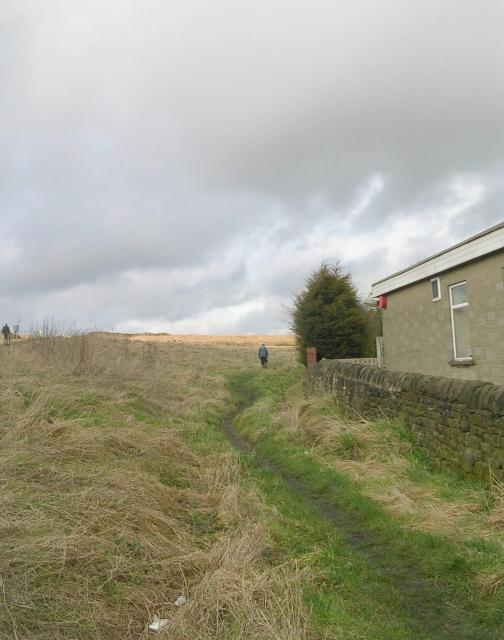 Footpath - Hawksworth Road