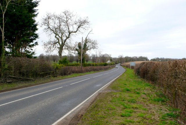 The A352 near Longburton