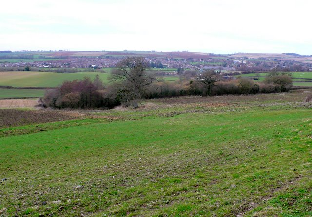 View North from Sherborne Hill