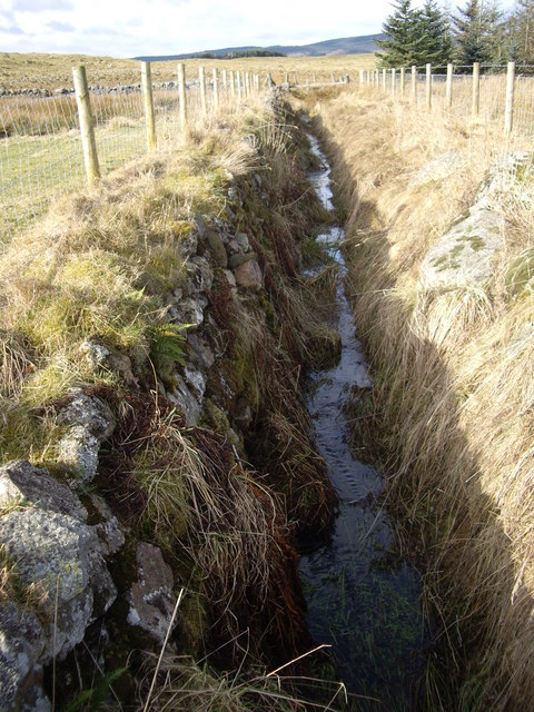 Upstream drainage