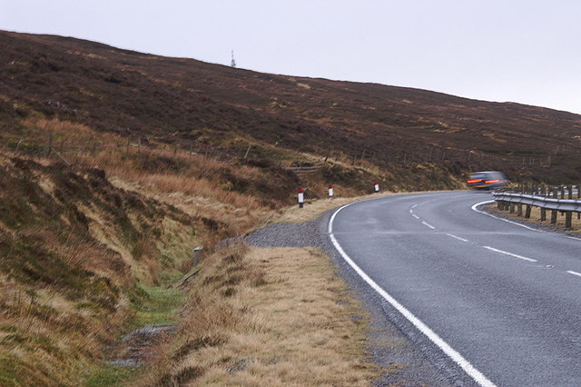 A968 below Hill of Swinister