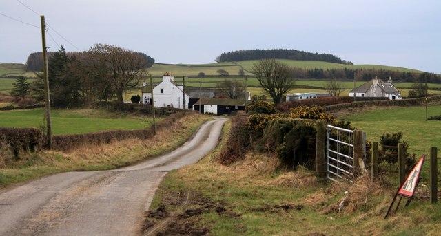 Road to Stockmoss Smithy