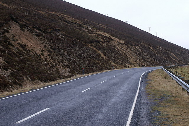 A968 below Hill of Neegarth