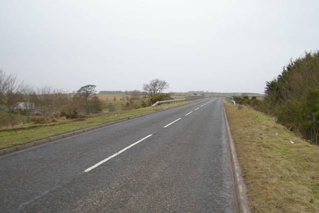 Bridge over A90 Dual Carriageway on Forestmuir Road, near Forfar