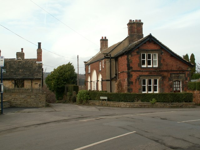 Hill Top At The Junction With Cliffe Hill