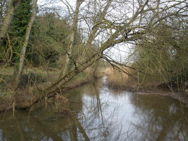 Drainage channel, near Kersbrook