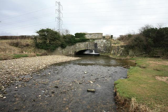 River Brock and Aqueduct