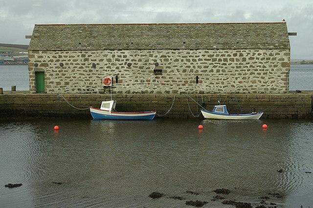 Shed beside Shetland Museum, Lerwick