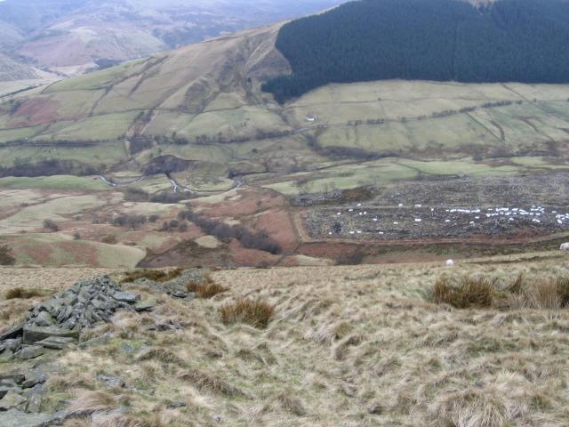 Hillside towards Alport Dale