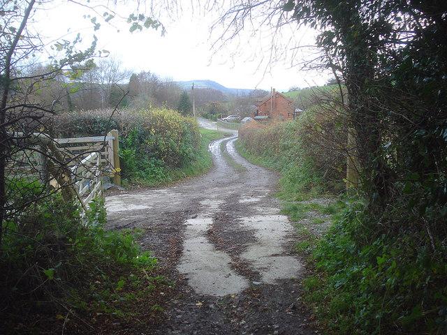 Entrance to Yatton Marsh Farm