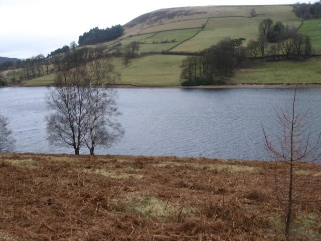 Across Ladybower Reservoir