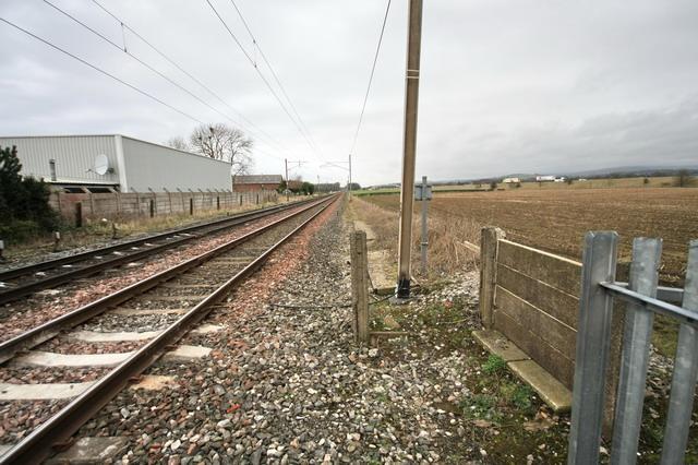 Northbound Rail Line