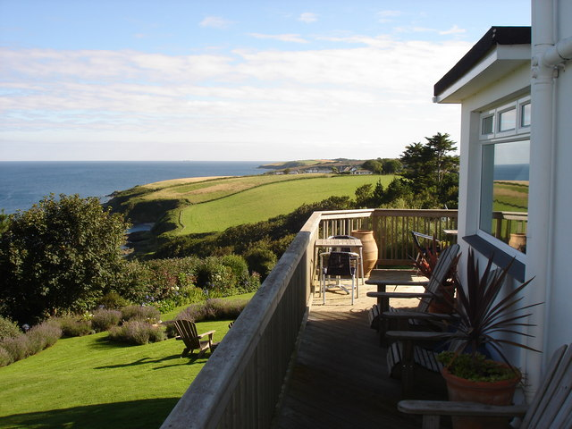 Driftwood Hotel - view to the south from the terrace