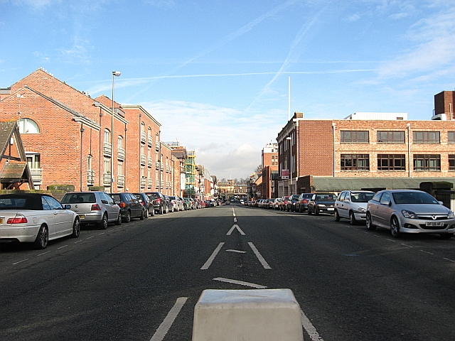 City Road, looking towards Chester Station