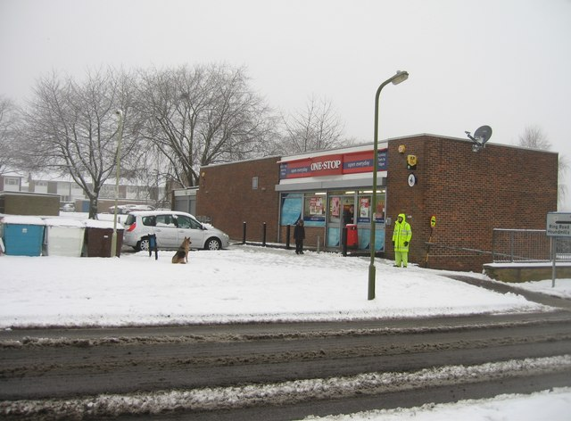 One Stop in the snow