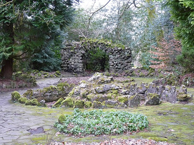 Fountain, Bedwellty Park, Tredegar