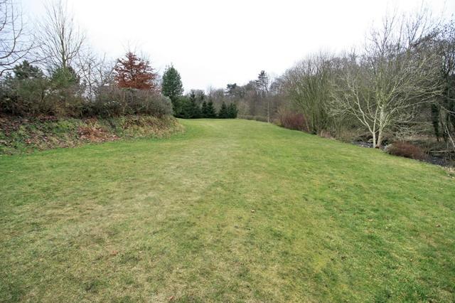 Public Footpath Through a Lawn