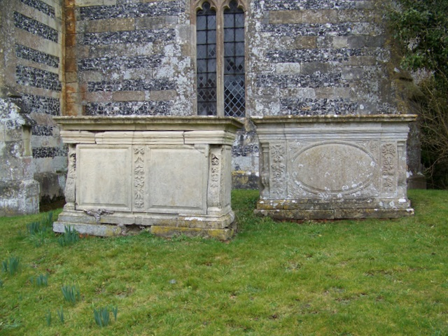 Tombs, All Saints Church, Enford