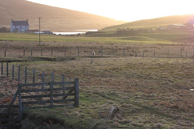 Valley between Trondavoe and Voxter