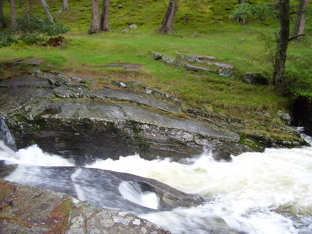 Punchbowl on River Quoich