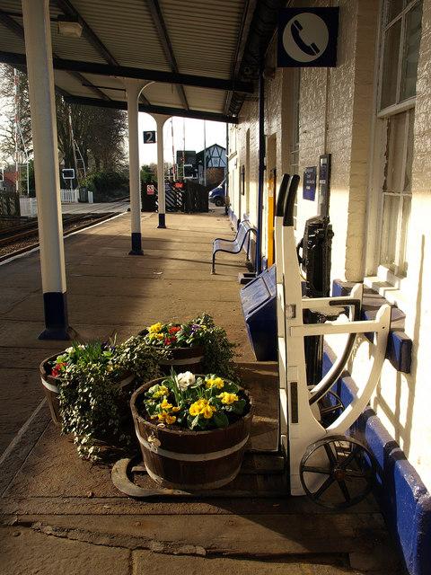Driffield Station Platform