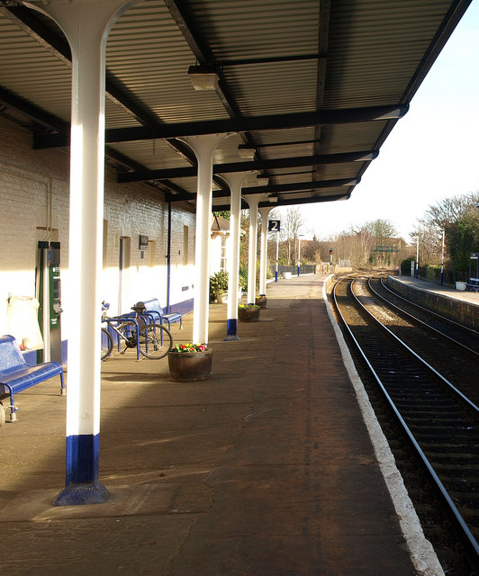 Driffield Station Platform