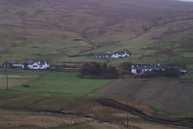 Houses at Wester Quarff