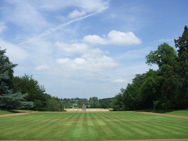 Rousham Gardens: the Bowling Green