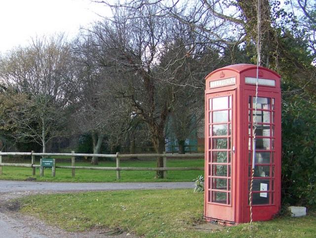 Telephone box, Woodsford