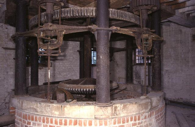 Hurst frame, Beeleigh Mill