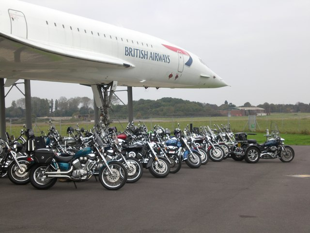 Concorde and Bikes