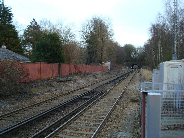 Railway Line at Chiddingstone Causeway