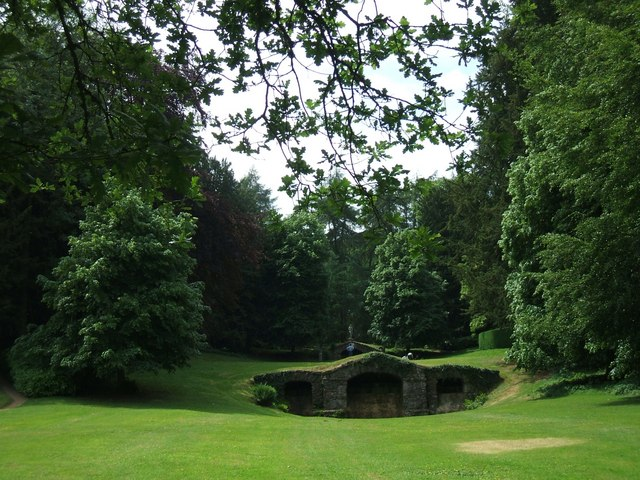 Rousham Gardens: Venus's Vale